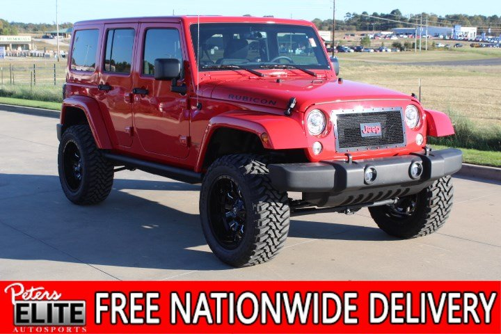 New 2018 Jeep Wrangler JK Unlimited Rubicon