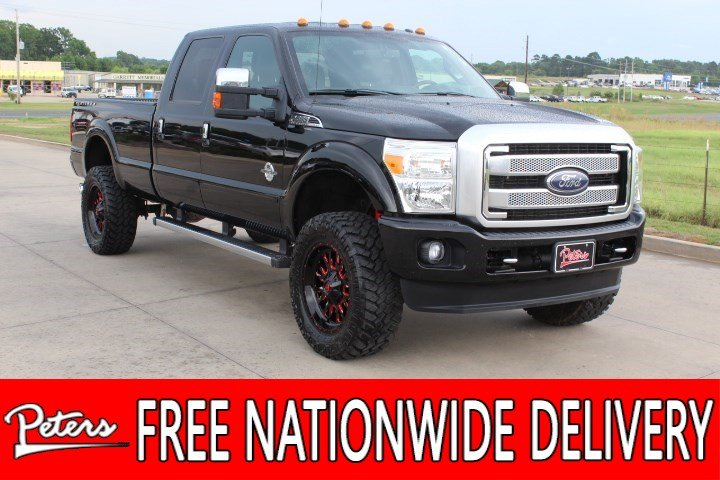 Pre-Owned 2016 Ford Super Duty F-350 SRW Platinum
