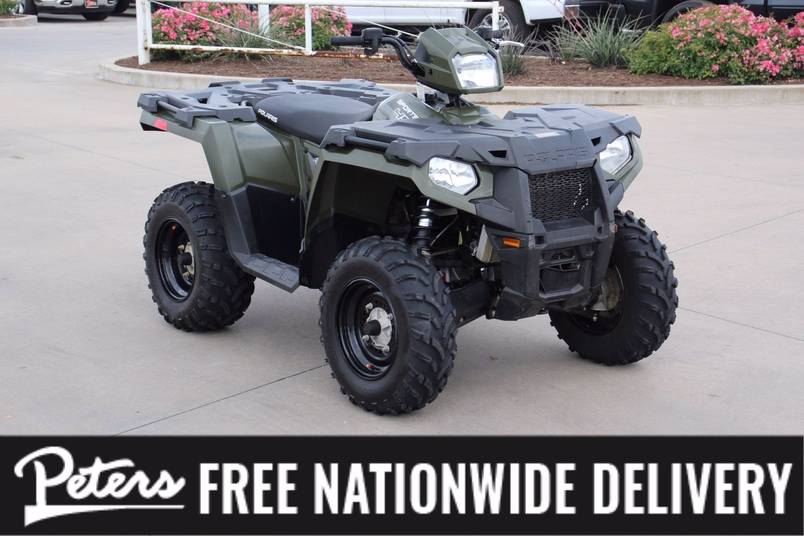 Pre-Owned 2018 Polaris Sportsman 450 HO