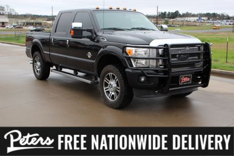 Pre-Owned 2013 Ford Super Duty F-250 SRW Platinum